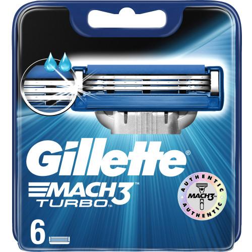 Gillette Mach3 Turbo 6p