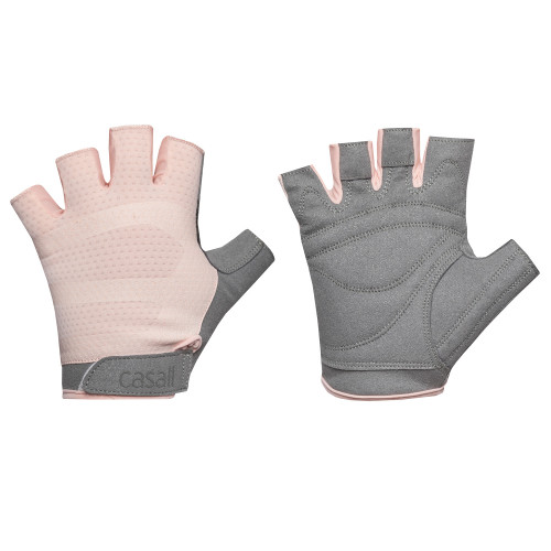 Casall Exercise glove wmns L Pink/Gre
