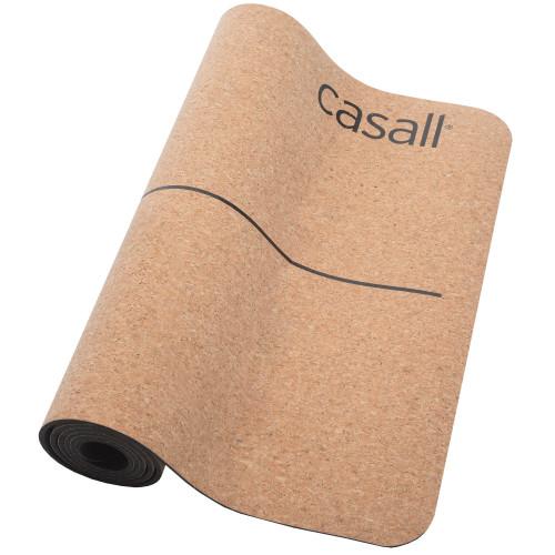 Casall Yoga mat natural cork 5mm