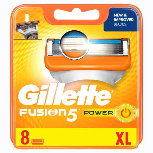 Gillette Rakblad Fusion Power 8-pack