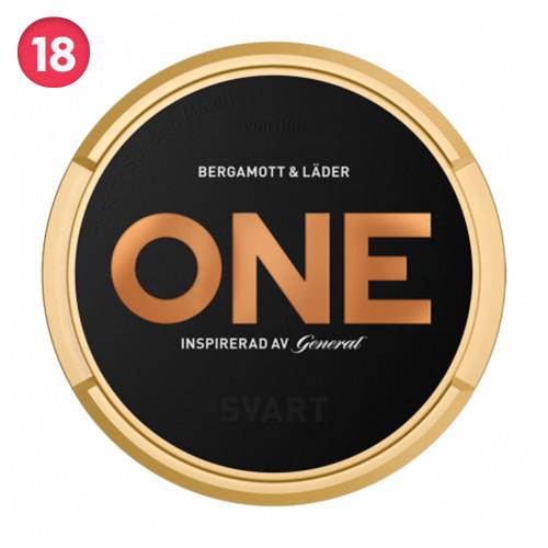 General One Svart 10-pack