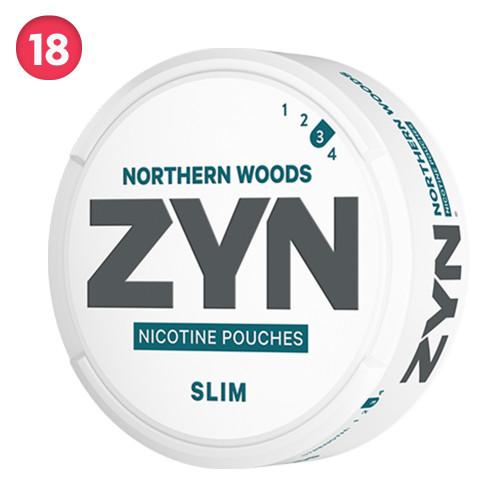 Zyn Slim Northern Woods 5-pack