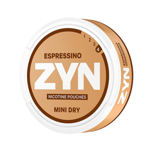 ZYN Mini Dry Espressino Strong 5-pack