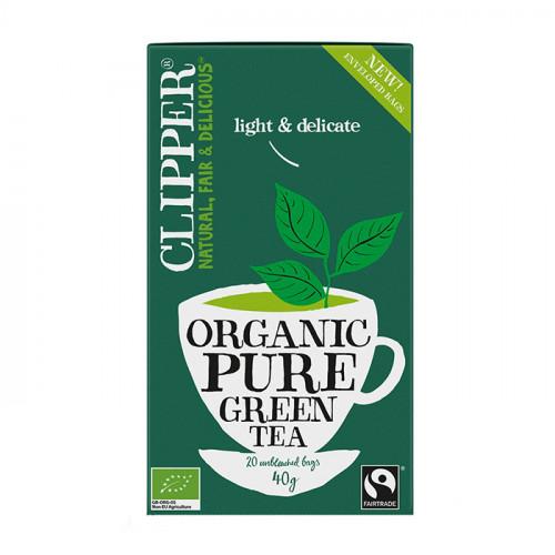 Clipper Clipper Green Tea Pure 20p EKO