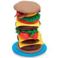 Play Doh Burger Barbecue