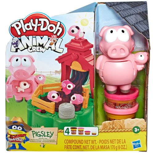Play Doh Pigsley Splashin Pigs