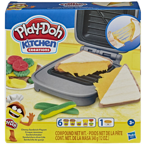 Play Doh Cheesy Sandwich Playset