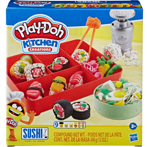 Play Doh Sushi Playset