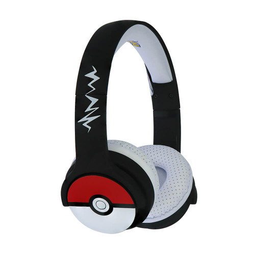 POKEMON Hörlur Junior Bluetooth On-Ear 85dB  Trådlös Pokeball