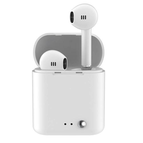 LEDWOOD Hörlur T14 TWS  True Wireless In-Ear  Vit Mic
