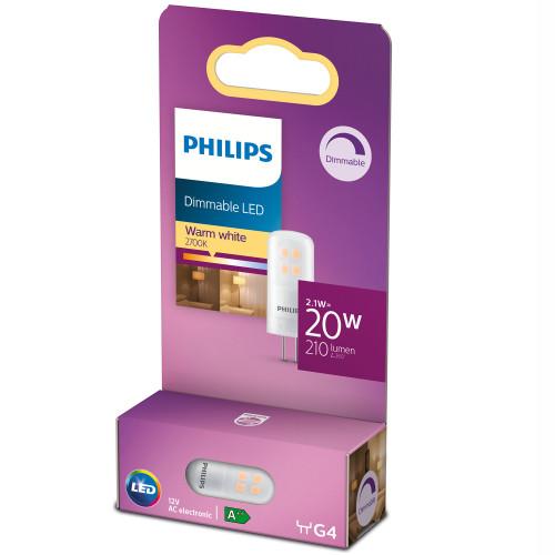 Philips LED G4 20W (2,1W) 12V 210lm Di