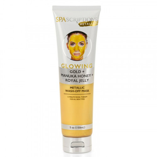 SpaScriptions Metallics- Glowing Metallic Wash-Off Mask 150 ml