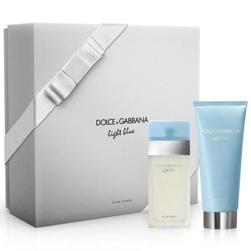 Dolce & Gabbana Light Blue EdT + Body Cream Gift set