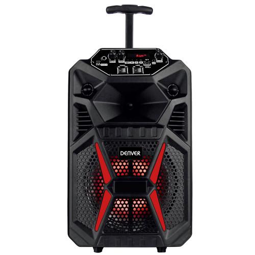 "Denver 8"" Bluetooth trolley speaker w"