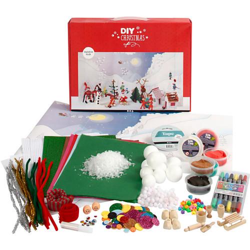 Creotime Materialset till jullandskap 1