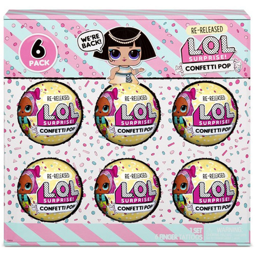 L.O.L. Surprise 6-Pack Confetti