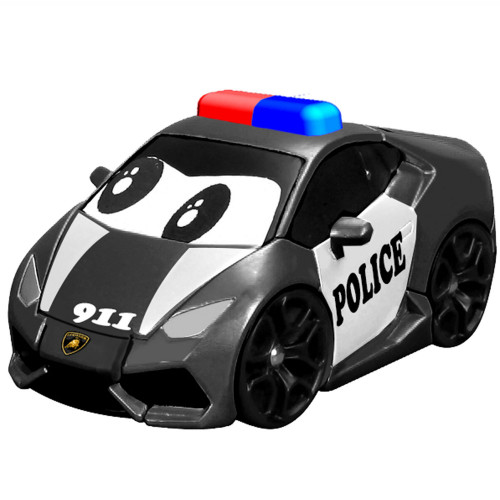 BB Junior Lamborghini Police Car med Lju