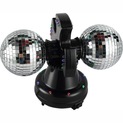 Music Twin Mirror Ball lamp LED