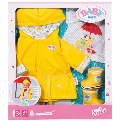 BABY Born Deluxe Rain Set 43cm