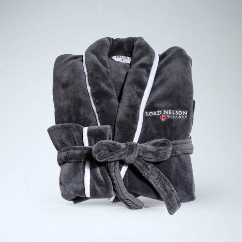 Luxury Robe Grå S/M