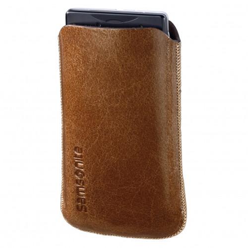 HAMA SAMSONITE Toledo Skin Sleeve Tobacco, Passar iPhone 3 och 4
