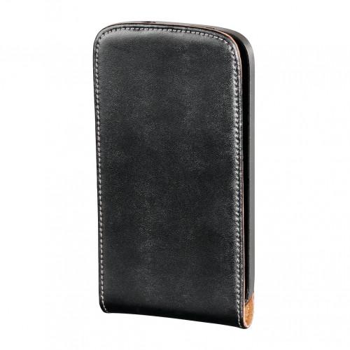 HAMA Mobilväska HTC Salsa flip-front svart läder
