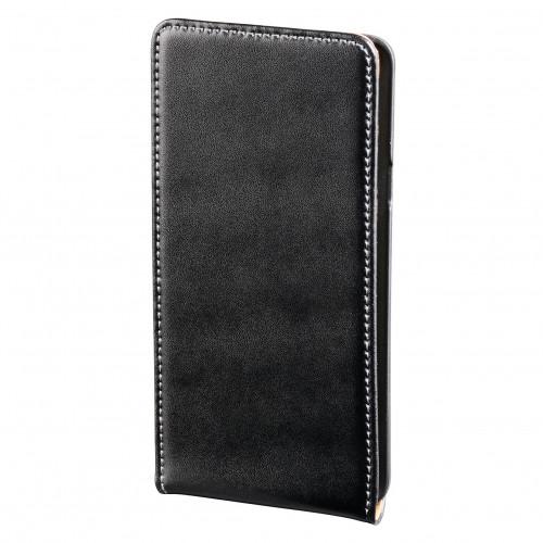 HAMA Samsung S2 Mobilväska flip-front svart läder