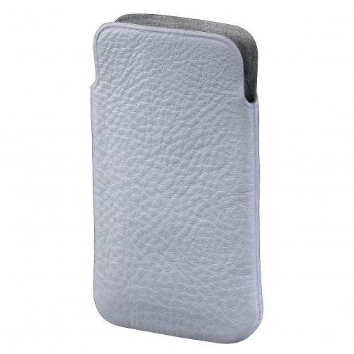 HAMA Mobilväska Sleeve Fabio Universal M Vit (iPhone4s)
