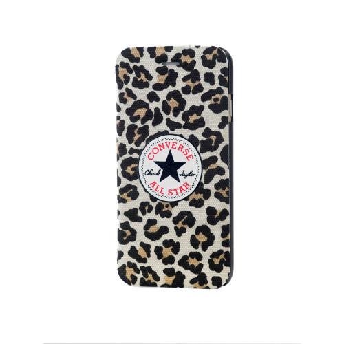 CONVERSE Mobilfodral Canvas iPhone 6/6S Leopard