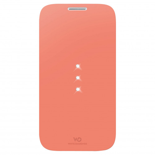 WD WHITE-DIAMONDS Crystal Booklet Coral Samsung S4