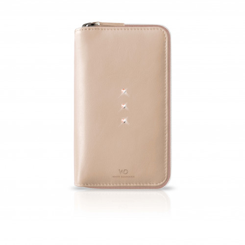 """WD Crystal Purse 5"""" Universal Rose Gold"""