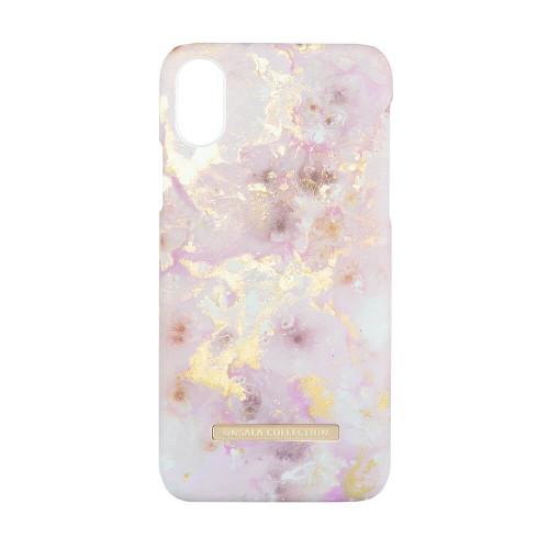 ONSALA Mobilskal iPhone X / XS Soft RoseGold Marble