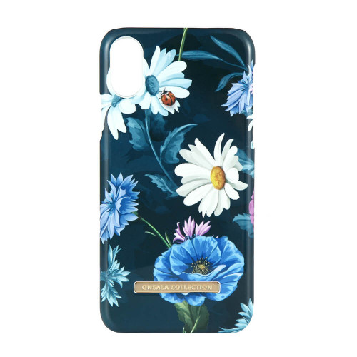 ONSALA Mobilskal iPhone X / XS Shine Poppy Chamomile