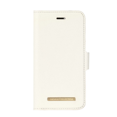 ONSALA COLLECTION Mobilfodral Saffiano White iPhone 6/7/8/SE