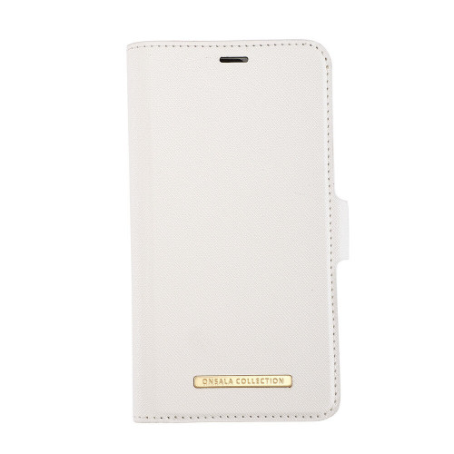 ONSALA COLLECTION Mobilfodral Saffiano White iPhone 11