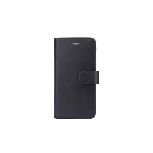 RADICOVER Strålningsskydd Mobilfodral Skinn iPhone 6/7/8/SE 2in1 Magnetskal Svart