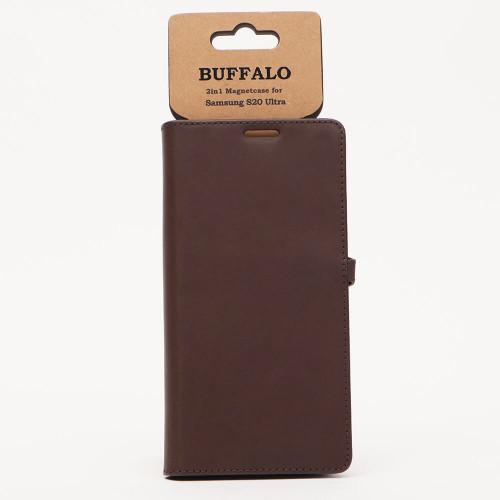 BUFFALO Mobilfodral Brun Samsung S20 Ultra