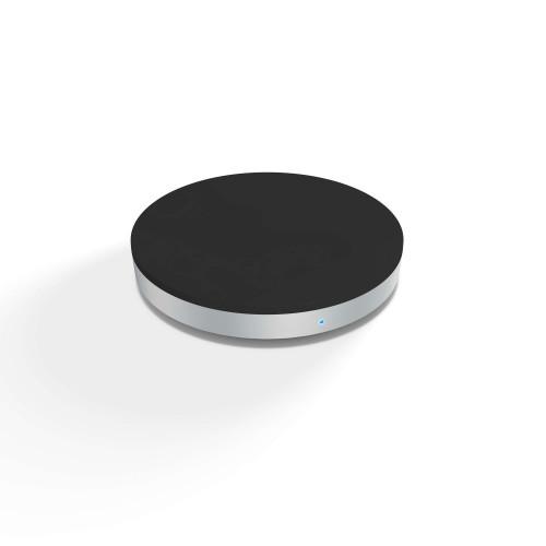 ZENS Laddare QI Trådlös USB-sladd 5W Rund Svart