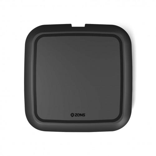 ZENS Laddare QI Trådlös USB-sladd 10W Svart (Samsung QC 9W)