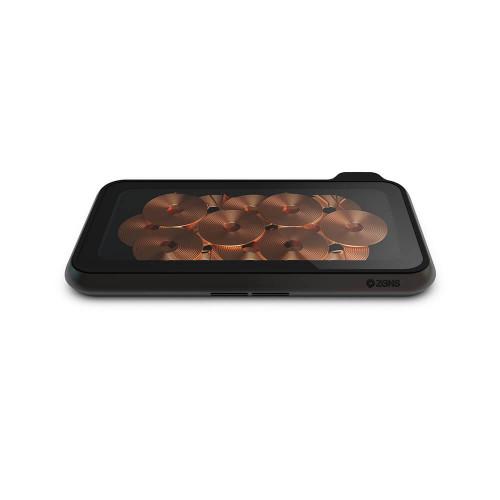 ZENS Dual Bordsladdare  QI Liberty 16 coils 2x15W Glass Top Edition (Apple & Samsung QC)