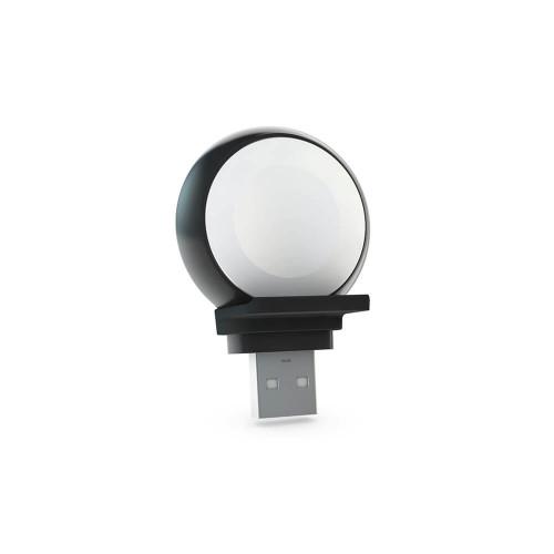 ZENS Apple Watch Laddare Trådlös USB-A Stick Aluminium Svart (MFI-module)