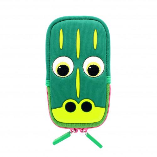TABZOO Mobilväska Krokodil Grön Universal