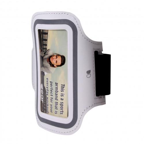 "GEAR Sportarmband Universal 4,7"" ex. iPhone 6/7/8/SE  Vit"