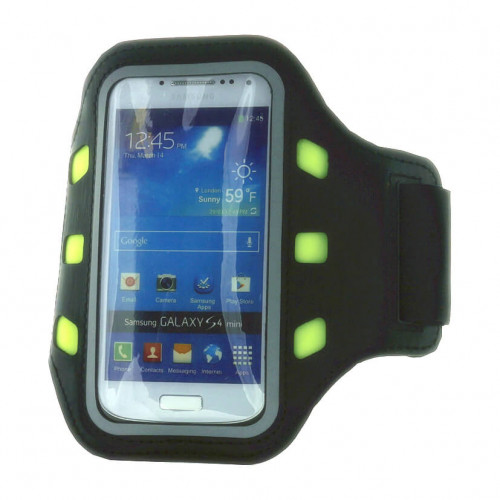 GEAR Sportarmband LED Universal S/M ex. iPhone5 Svart
