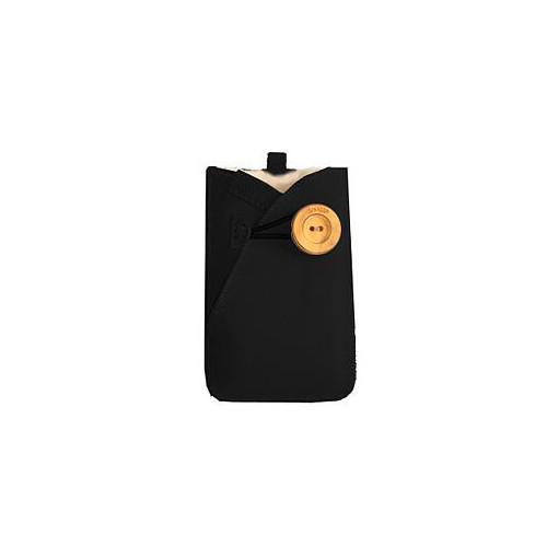 SNUGGS Mobil sleeve Universal Svart Mocca Ull på insidan