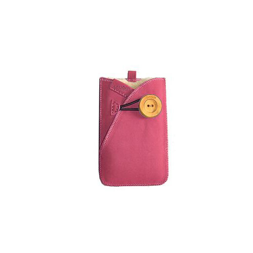 SNUGGS Mobil sleeve Universal Rosa Mocca Ull på insidan