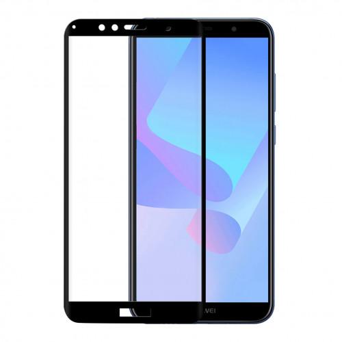 GEAR Härdat Glas 3D Full Cover Svart Huawei Y6 Prime 2018