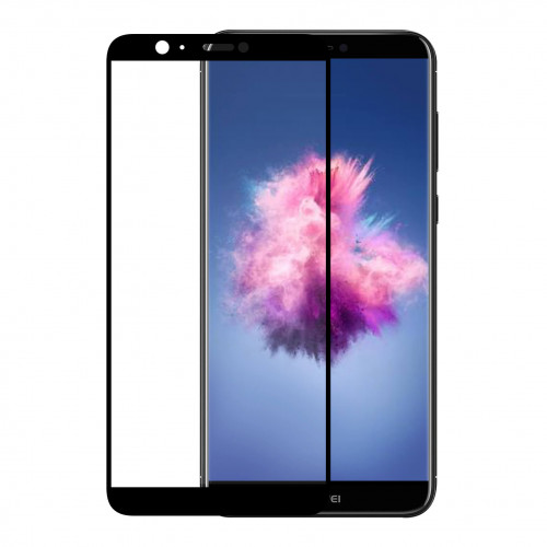 GEAR Härdat Glas 3D Full Cover Svart Huawei P Smart 2018