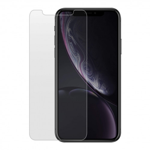 GEAR Härdat Glas 2.5D iPhone XR/11 Incl. Frame