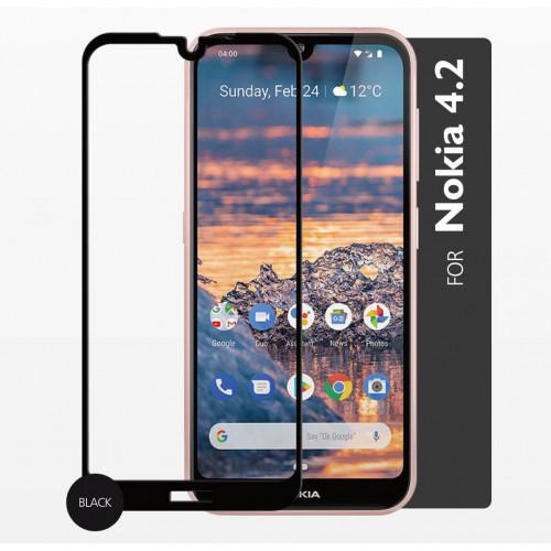GEAR Härdat Glas 2,5D Full Cover Nokia 4.2